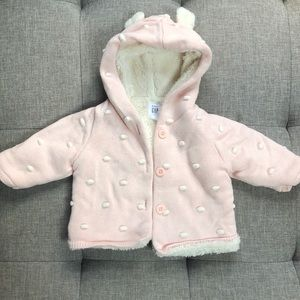 Baby Girl Warm Jacket 3-6 mos